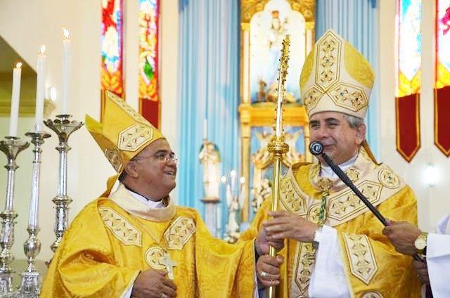 Dom Edson fala sobre a renúncia de Dom Fernando e Nomeação de Dom Gilberto como bispo da Diocese de Crato
