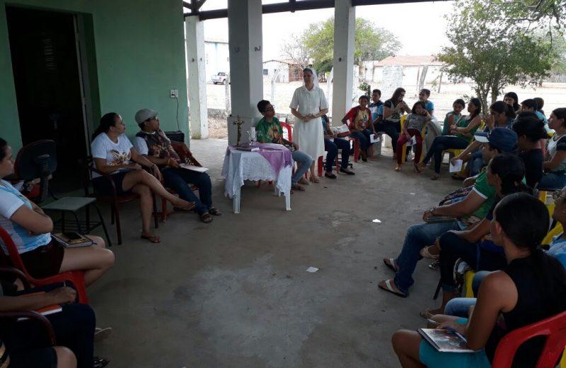 COMUNIDADES RURAIS DA PARÓQUIA DO PRADO INICIAM CAMINHO DE APROFUNDAMENTO SOBRE A CELEBRAÇÃO DOMINICAL DA PALAVRA