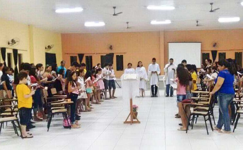 PARÓQUIA DO PRADO: Turmas de Catequese com Crianças celebram o recebimento do Símbolo da Fé