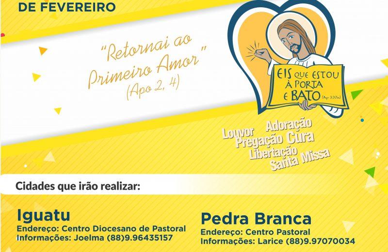 Renovação Carismática Católica do Ceará realiza no período de carnaval o Renovar