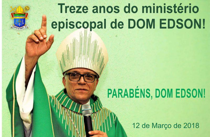 Parabéns, DOM EDSON!