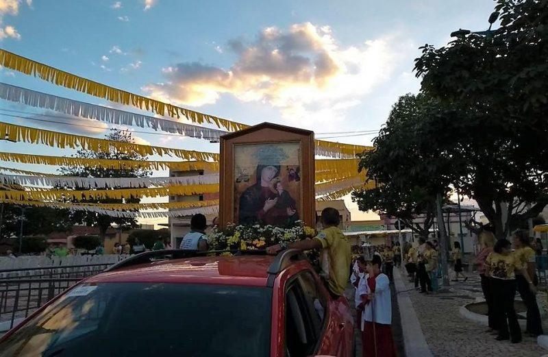 PARÓQUIA NOSSA SENHORA DO PERPÉTUO SOCORRO, EM ACOPIARA, REALIZA FESTA DE SUA PADROEIRA