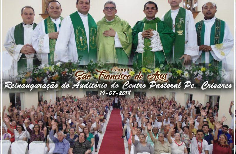 REFORMA DO AUDITÓRIO DO CENTRO PASTORAL PE.  CRISARES