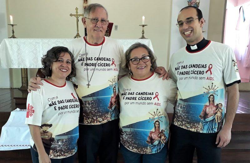 Agentes da Pastoral da AIDS de Iguatu participam da Assembleia Regional no Crato